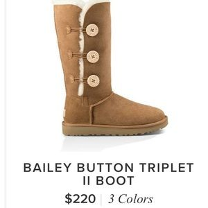Tall Brown Button Uggs